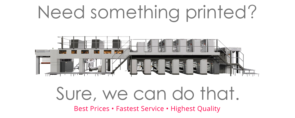 FULL-COLOR PRINTING SERVICES